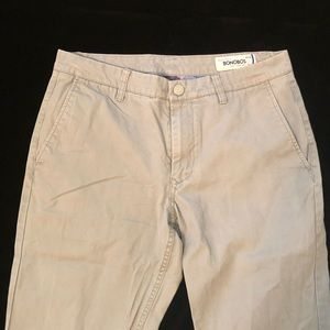 Bonobos Pants - Bonobos   light gray washed chinos   32/30
